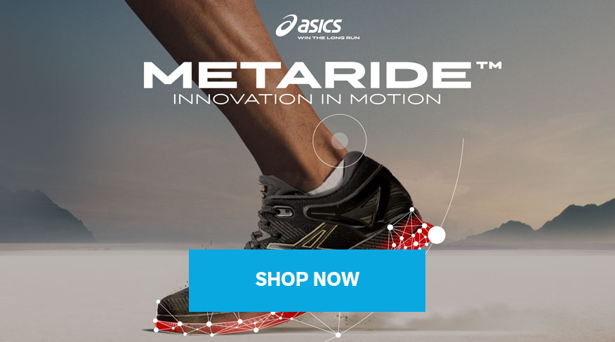 Asics redefines the long run with the launch of new energy